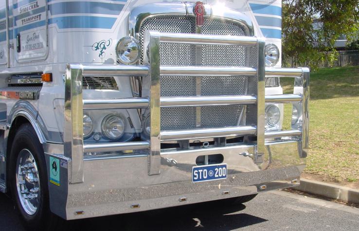 Custom Bullbars for Kenworth Transport Trucks